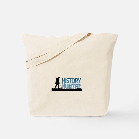 History Hunter Tote Bag
