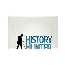 History Hunter Rectangle Magnet