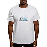Metal detector Mens Light T-shirts