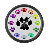 Paw print Giant Clocks