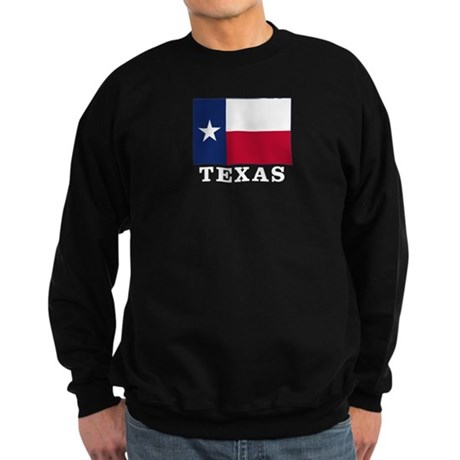 Texas Flag - TX Sweatshirt (dark)