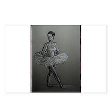Ballerina! Ballet, dance art! Postcards (Package o