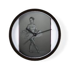 Ballerina! Ballet, dance art! Wall Clock