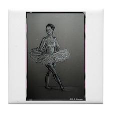 Ballerina! Ballet, dance art! Tile Coaster