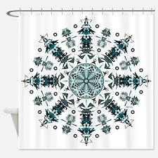 P2 Mandala Shower Curtain