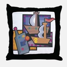 Radio Controlled Boating Throw Pillow