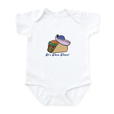 Taco Time (Taco with Sombrero) Infant Bodysuit