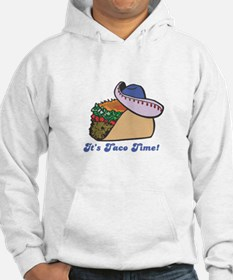 Taco Time (Taco with Sombrero) Hoodie