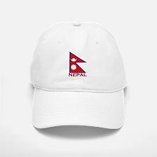 Nepal Flag Gear Baseball Baseball Cap