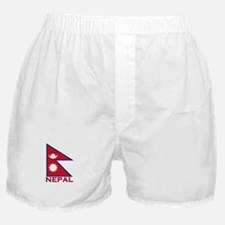 Nepal Flag Gear Boxer Shorts