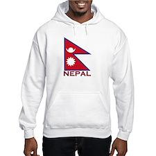 Nepal Flag Gear Hoodie