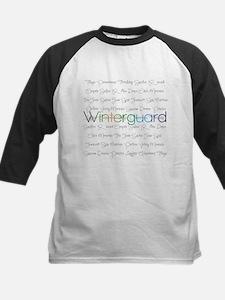 Winterguard Kids Baseball Jersey