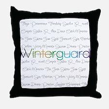 Winterguard Throw Pillow