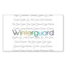 Winterguard Decal