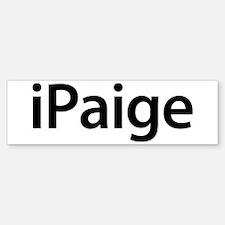 iPaige Bumper Bumper Bumper Sticker