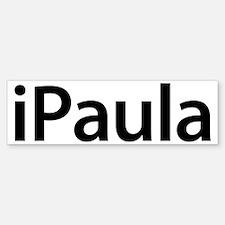 iPaula Bumper Bumper Bumper Sticker