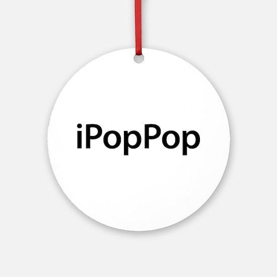 iPopPop Round Ornament