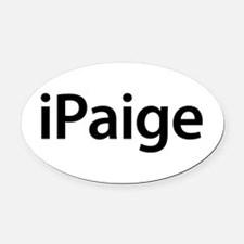 iPaige Oval Car Magnet