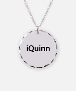 iQuinn Necklace Circle Charm