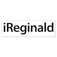 iReginald Bumper Bumper Sticker