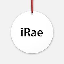 iRae Round Ornament