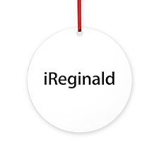 iReginald Round Ornament