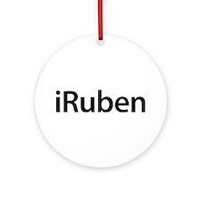 iRuben Round Ornament