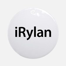 iRylan Round Ornament