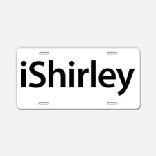 iShirley Aluminum License Plate