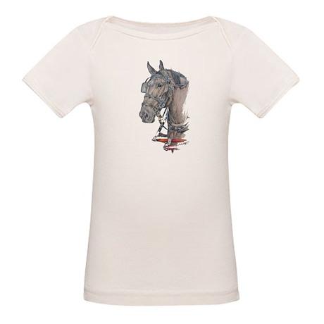 Percheron Draft horse harness Organic Baby T-Shirt
