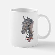 Percheron Draft horse harness Mug