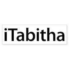 iTabitha Bumper Bumper Sticker
