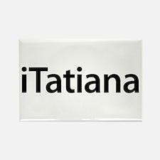 iTatiana Rectangle Magnet