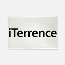 iTerrence Rectangle Magnet