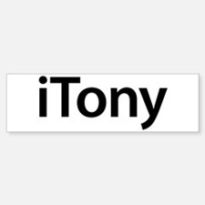 iTony Bumper Bumper Bumper Sticker