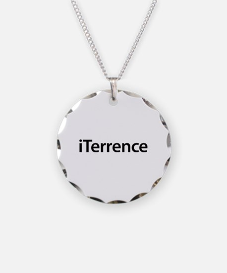 iTerrence Necklace Circle Charm