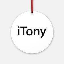 iTony Round Ornament