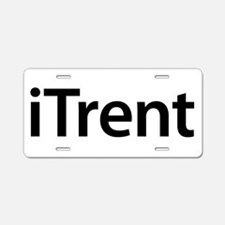 iTrent Aluminum License Plate