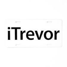 iTrevor Aluminum License Plate
