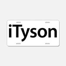 iTyson Aluminum License Plate