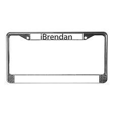 iBrendan License Plate Frame