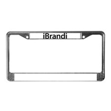 iBrandi License Plate Frame