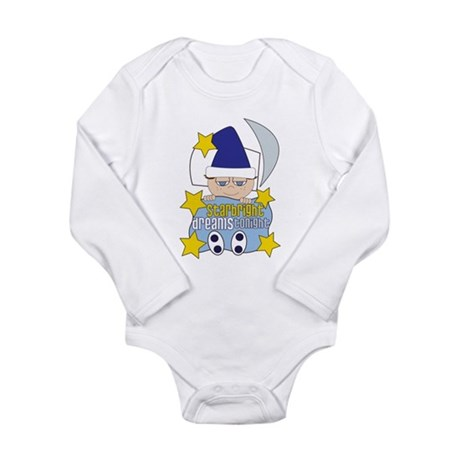 Starbright Long Sleeve Infant Bodysuit