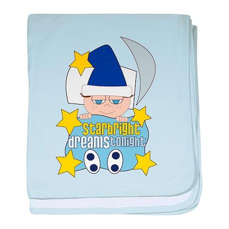 Starbright baby blanket