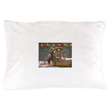 Helaine's Rudolph the What? Pillow Case