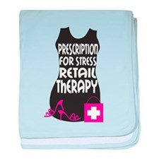 Retail Therapy baby blanket