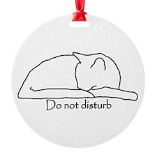 Do Not Disturb Ornament