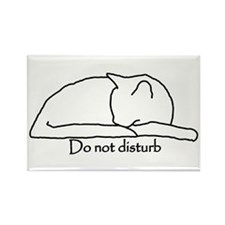 Do Not Disturb Rectangle Magnet (10 pack)