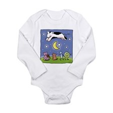 cowovermoon1.jpg Long Sleeve Infant Bodysuit