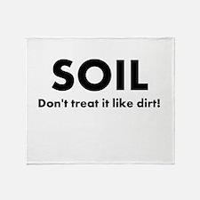 Soil Throw Blanket